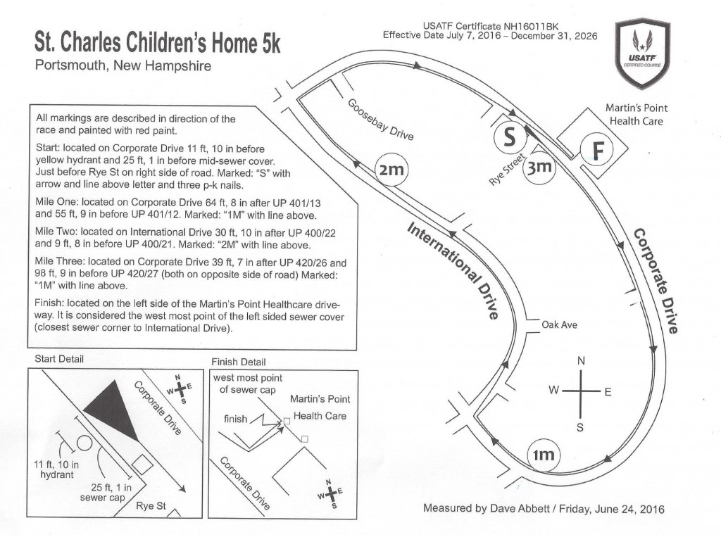 St. Charles 5K USATF Certified Course