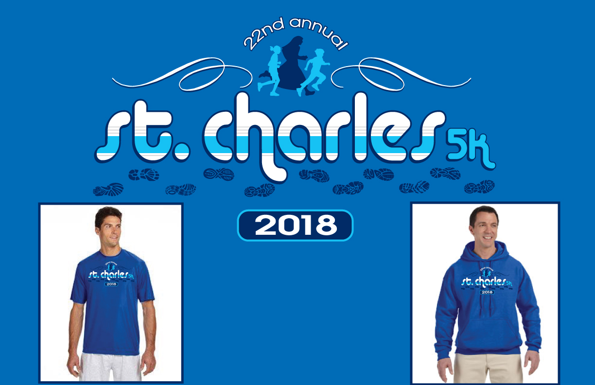 22nd Annual St Charles 5k T Shirt Design Running Nuns
